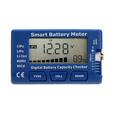 5 in 1 Digital Battery Capacity Checker Tester for RC Toy
