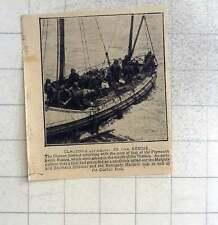 1925 'S Clacton scialuppa di salvataggio ALLA RISCOSSA di Plymouth Ketch Rosina