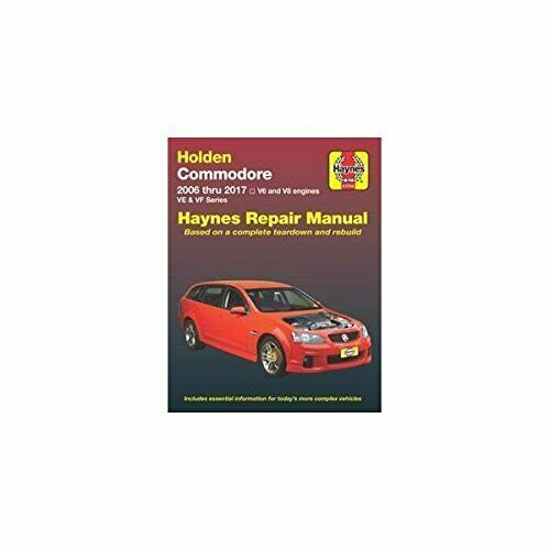HOLDEN COMMODORE VE 2006-17 BOOK NEW