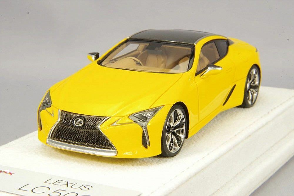 Make up x KID BOX 1 43 LEXUS LC500 S Paquet droite poignée jaune EX4002 Limited