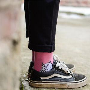 Mens-Unisex-Lord-Nermal-Pocket-Cat-Alien-RIPNDIP-rip-n-dip-Socks