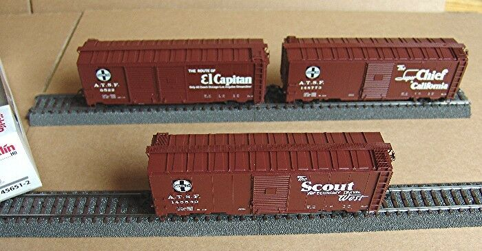 Märklin 45651-Wagenset-garantite 3 carri merci della AT & SF #neu in OVP #