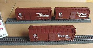Märklin 45651 - Wagenset - 3 gedeckte Güterwagen der AT & SF #NEU in OVP#