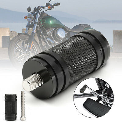 CNC Cut Toe Foot Chrome Shifter Peg Fit For Touring Softail Sportster Dyna