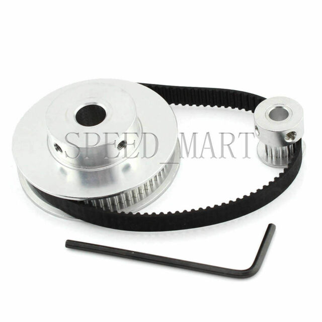 21T5//22-2 T5 Aluminium Precision Timing Belt Pulley 10mm Wide x 22 Tooth