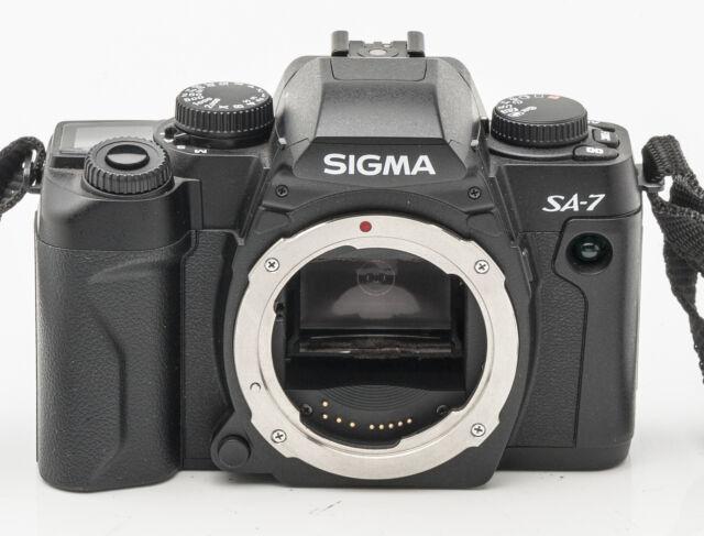 Sigma SA-7 SA7 SA 7 Body Gehäuse Spiegelreflexkamera SLR Kamera