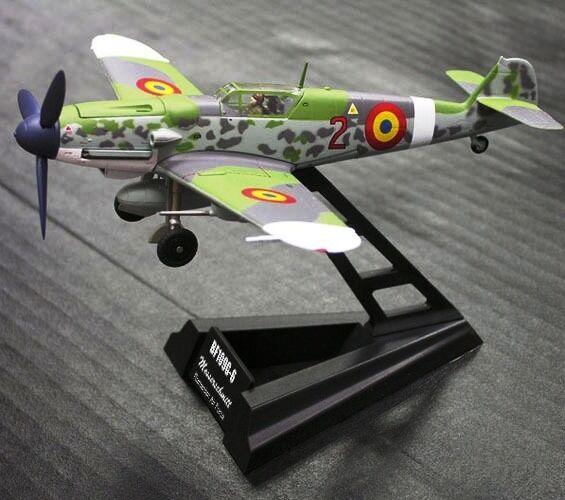 Wtw72-003-02 1/72 Escala Messerschmitt Bf109g-6 Rumano
