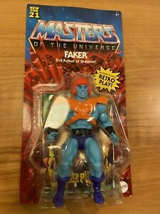 MISB Faker Masters of the Universe Origins MOTU Mattel