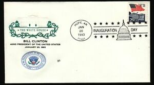 1993-Clinton-Gore-inaugural-Hope-AR-cancel-House-of-Farnam-cachet