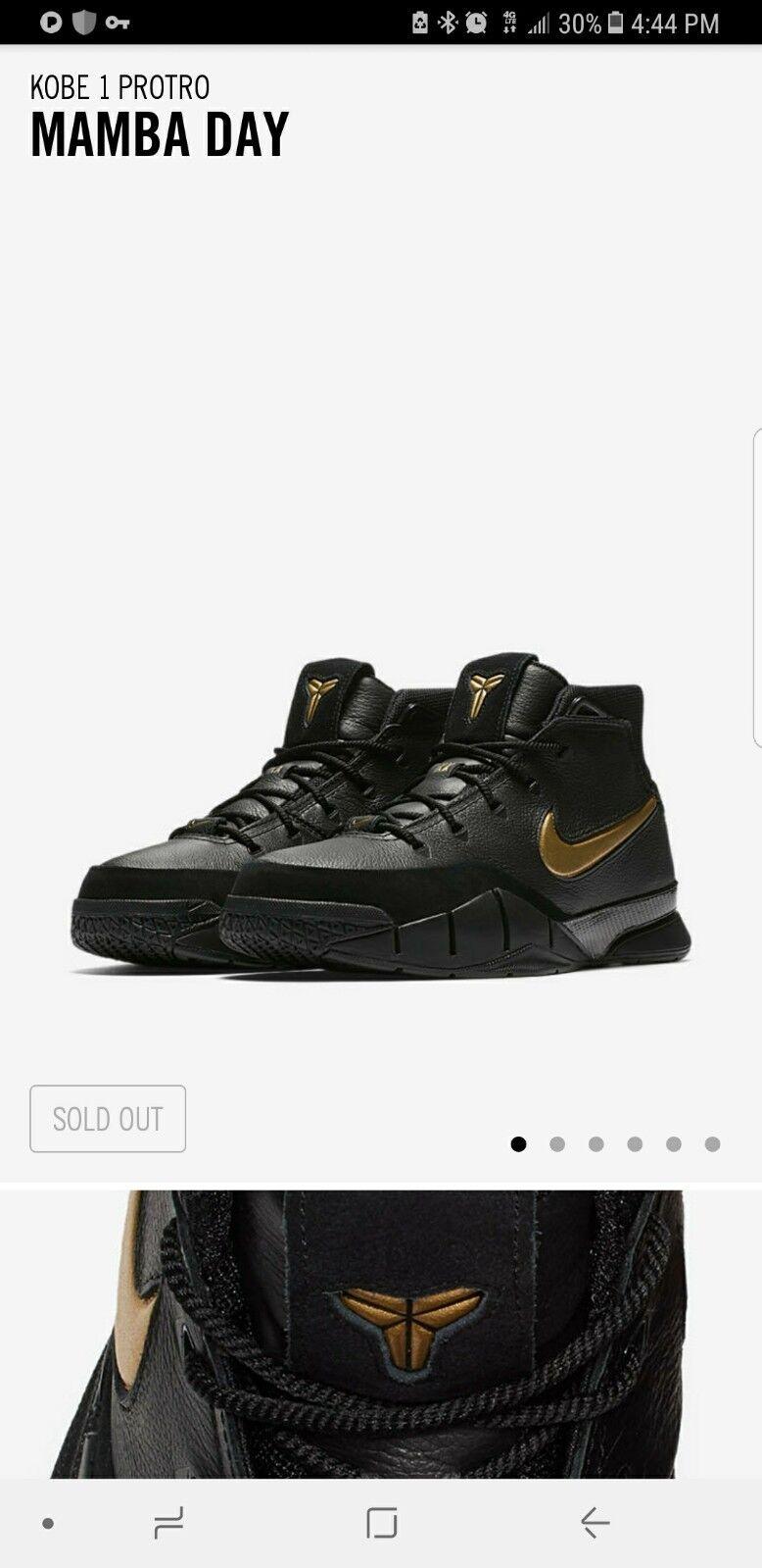 Nike mas Kobe 1 protro Mamba día cómodo el modelo mas Nike vendido de la marca fd637a