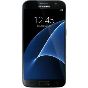 Samsung Galaxy S7 G930T 32GB - Black (GSM Unlocked AT&T / T-Mobile) Smartphone