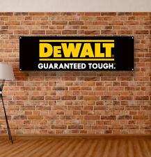 Dewalt Tools Vinyl Banner Sign Garage Workshop Logo Flag Poster Free Shipping