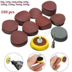 Abrasives-1-039-039-Sander-Backer-Plate-Pad-1-8inch-Shank