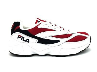 FILA Sneakers 94 Low White Red Black 1010255 150 | eBay