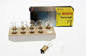 BOSCH-x10-pcs-Fog-Tail-Light-Bulb-For-RENAULT-VW-FORD-PEUGEOT-OPEL-1987302202