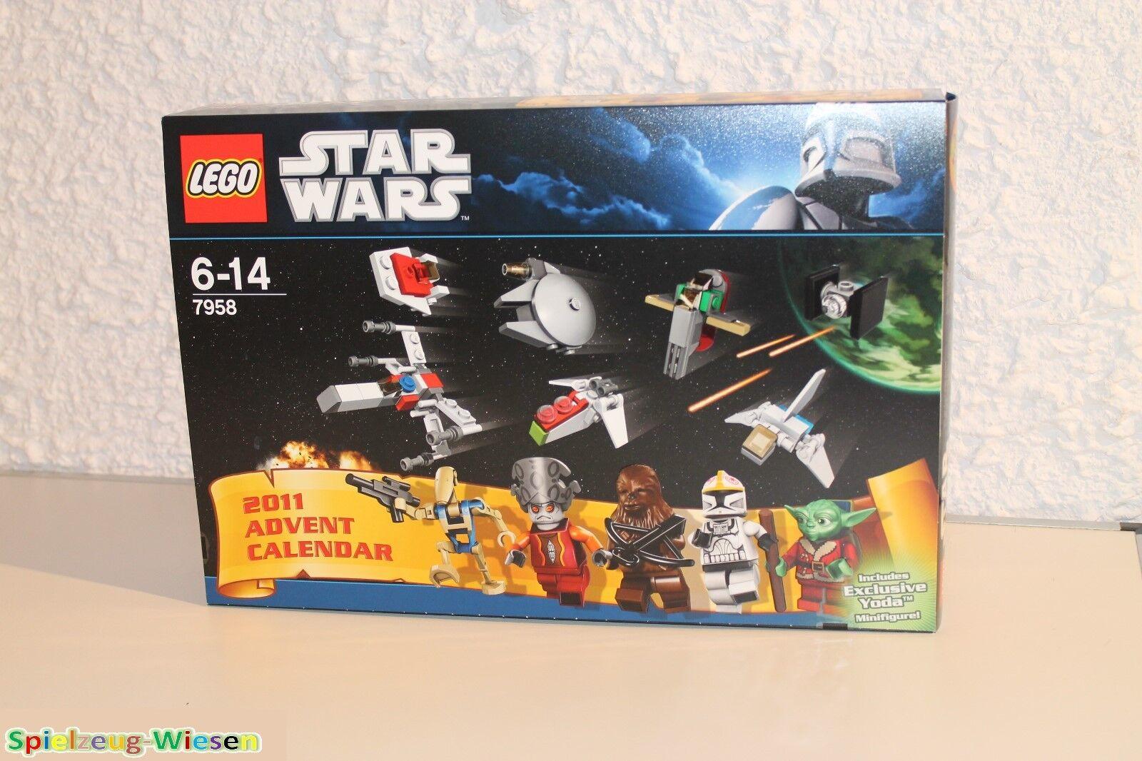 LEGO® STAR WARS™ 7958 1. Adventskalender 2011 - NEU & OVP -