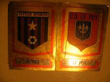 album PANINI immages vignette FOOTBALL 88 Foot 1988 Ecusson n°373 A-B FRANCE