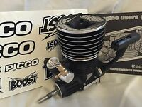 Picco Boost .28 Nitro Pull Start Engine 5+2p, Kyosho Inferno Gt St, Pic9659