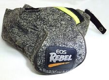 "Canon EOS Rebel camera case Grey Genuine 5X5X3""  - free shipping worldwide"