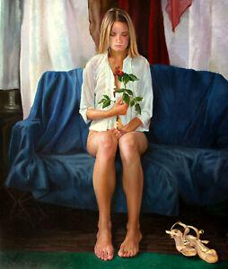 ORIGINAL-OIL-CANVAS-FEMALE-PAINTING-ART-BY-UKRAINE-ARTIST-IGORGREY