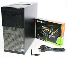 Gaming PC Quad Core GTX 1050 Ti or 1650 i5 or i7 240GB - 1TB SSD 8GB or 16GB