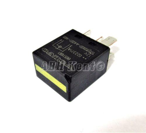Multi-usage 4-Pin Noir relais 8651661 V23074 Tyco-A4001-X65 1990-2015 Volvo