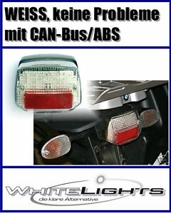 Led Rear Tailgate Light White Bmw R 1150 Gs Adventure Abs Clear Tail