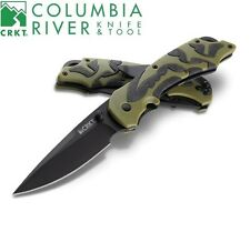 CRKT - MOXIE Assisted Opening Knife Green/Black 1101 NEW
