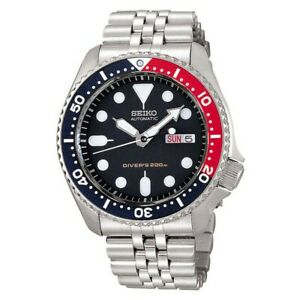 Seiko SKX009K2 Automatic Diver's 200m Stainless Steel Bracelet Watch