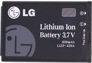 Authentic-NEW-OEM-LG-LGIP-420A-Battery-for-AX275-UX280-AX300-AX380-UX380-AX500