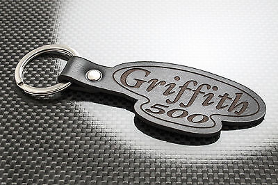 Tvr Griffith 500 Leather Keyring Keychain Schlüsselring Porte-clés V8 Se Limited To Make One Feel At Ease And Energetic Keyrings & Keyfobs