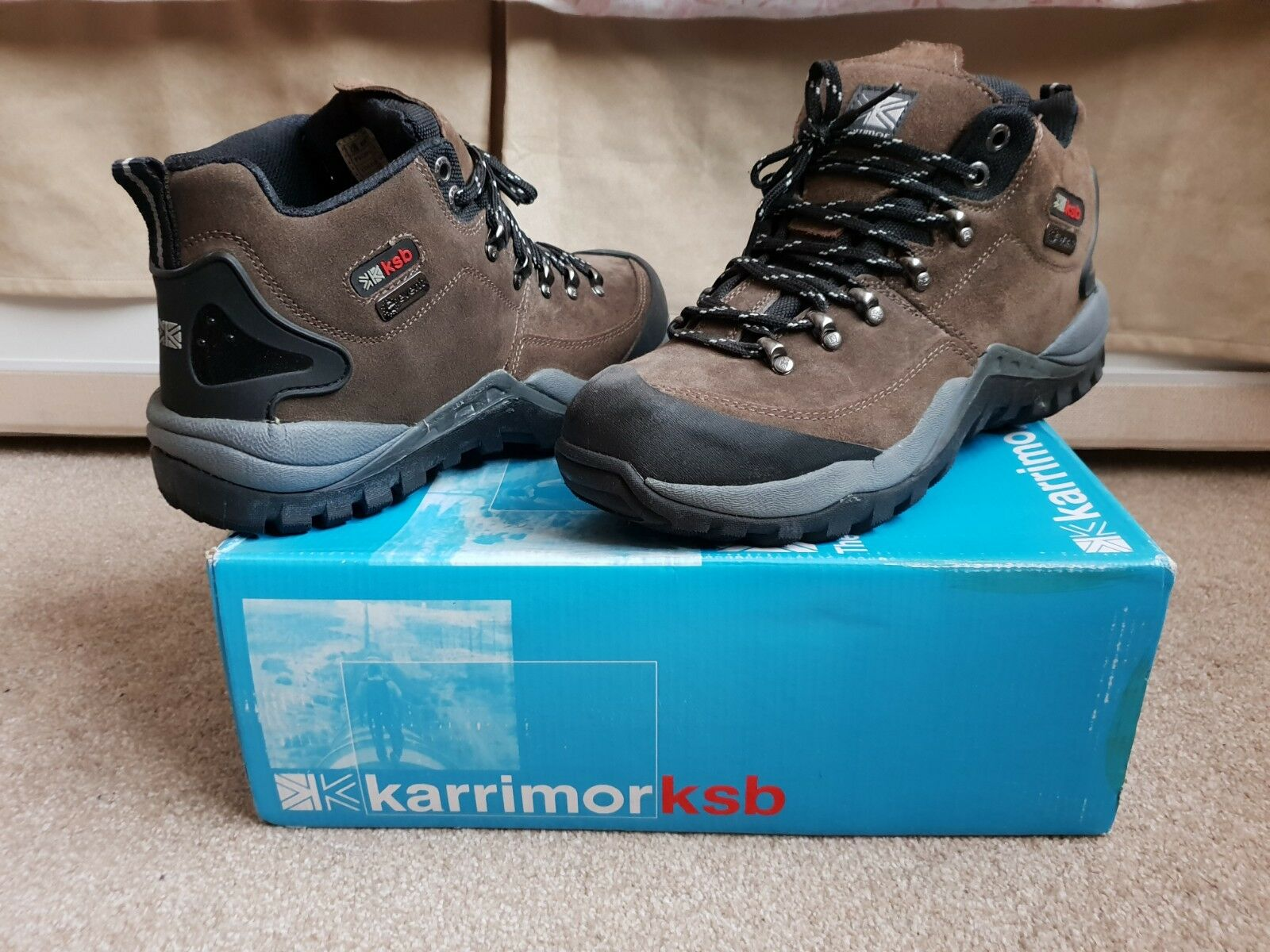 Mens Karrimor KSB Waterproof Breathable Lightweight Trial Boot