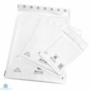 GOLD MAIL LITE BUBBLE PADDED POSTAL ENVELOPES 400 BAGS F//3-220 x 330MM