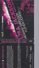 CD--LISA JACKSON UND NANCY BUSH--NIEMAND WIRD DEIN FLEHEN HÖREN, 6 CDS -KLASSIK