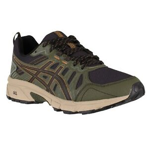 Men-039-s-Asics-GEL-VENTURE-7-1011A560-Black-Tan-Presidio-Trail-Running-Shoes