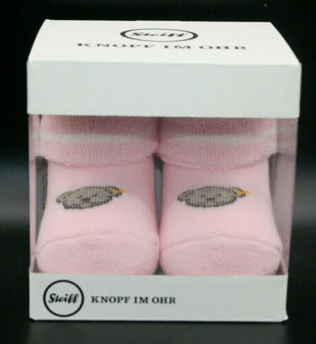 Steiff Baby Socken Erstlingssocken rosa