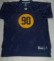 Nfl Green Bay Packers Throwback On Field Jersey Size Xl - Super Rare