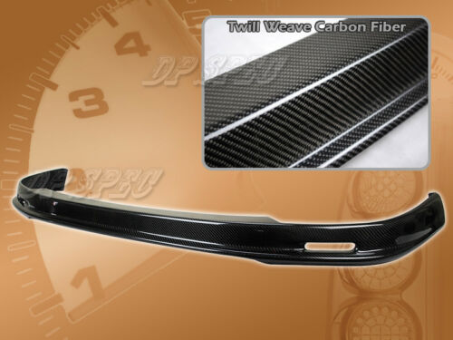 FOR 94-97 ACURA INTEGRA T-M CARBON FIBER CF FRONT BUMPER LIP SPOILER BODY KIT