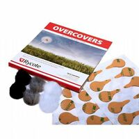 Rycote OverCover Lavalier Wind Cover & Stickies (30 Uses & Re-Useable Fur Cov...
