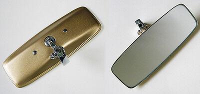 MGB MGB GT AUSTIN HEALY SPRITE CLASSIC CAR GOLD BACK INTERIOR REAR VIEW MIRROR