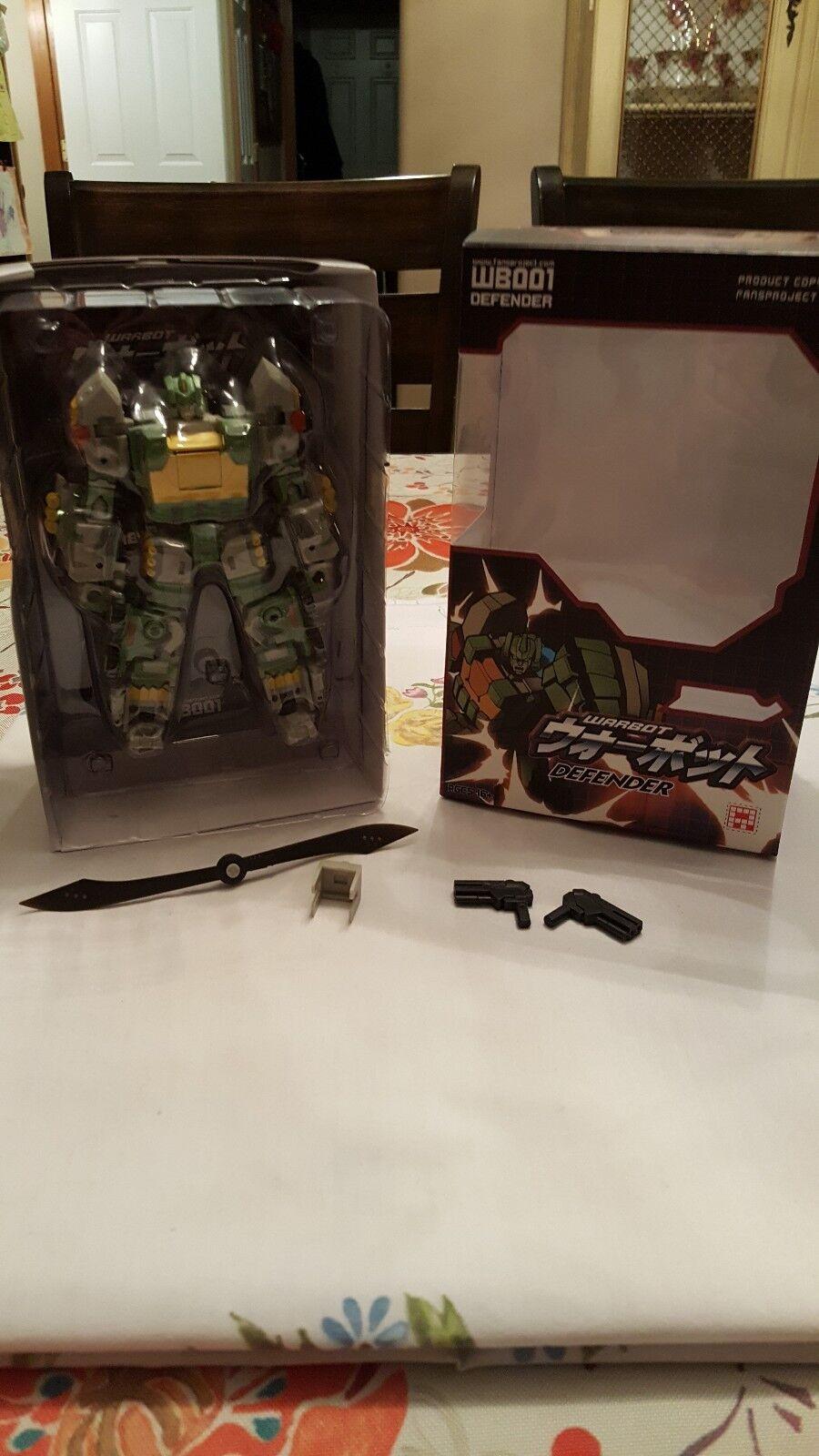 FansProject Transformers Warbot  Defender Action Figure (Springer) (Springer) (Springer) c20cc2