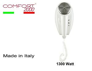 Wall-hair-dryer-for-hotels-phon-bathrooms-COMFORT-2000