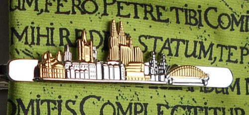 caja de regalo Colonia un alfiler de corbata paréntesis skyline colonia bicolor nm0118