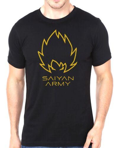 Saiyan Army Gym Training Workout Men/'s T-Shirt