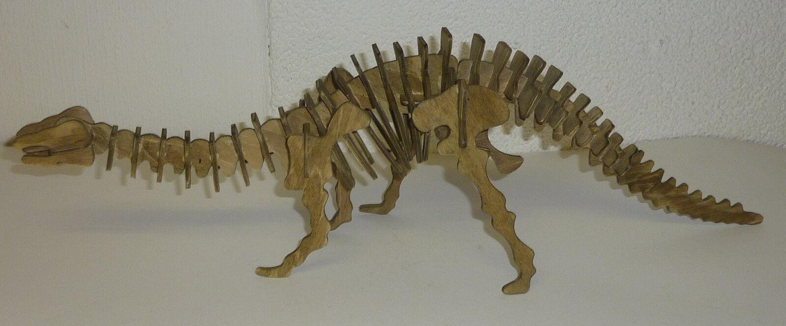 Dinosaurier aus Holz gefertigt & handbemalt Breite 50 50 50 cm Modell Spielzeug b129af