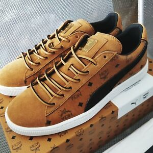 reputable site ba69d ef4f5 Details about IN hand_MCM x Puma Suede Classic Sneakers Size 42 Cognac  brown us9 eu42 uk8