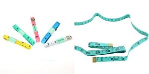 Tailors-Body-Soft-Flexible-Tape-Measure-150cm-60-034-Easy-to-Read-Colour-Choice
