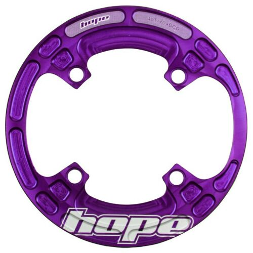 Hope Bash Guard 4 Bolt 104mm BCD 3234t Purple Brand New