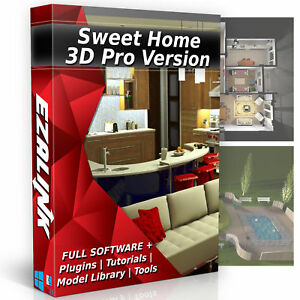 sweet home 3d interior design house architect software pro windows