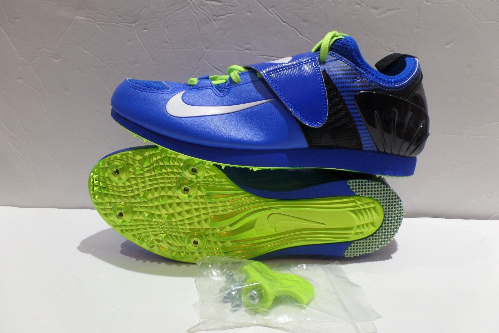 NEW sz 12.5 Nike Zoom PV II 2 Pole Vault Shoes Mens  Track Spikes 317404-413